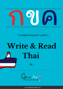 Book Write and Read Thai